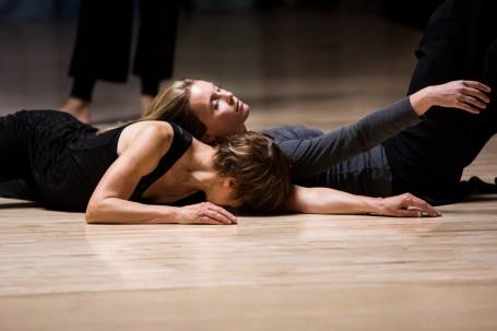 mary dancing floor work