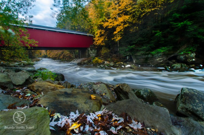 Covered bridge in PA